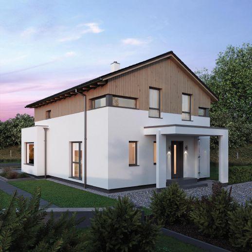 +#+#+ ELKHAUS 140 Ihr Familientraumhaus mit Erker und Panoramafenster inkl. Grundstück und Bodenplatte! Wir begleiten Sie zu Ihrem Haustraum!+#+#+