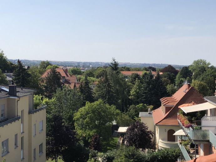 Appartement-Wohnung in TU-Nähe mit Dachterrasse und Fernblick