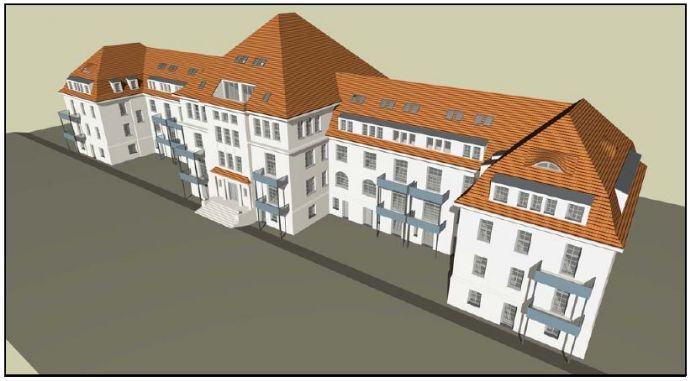 Sanierte 4 Raum Maisonette Wohnung in ehemaliger Kaserne zu vermieten