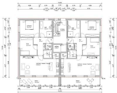 Ruhiges Wohnen in top Lage im OG rechts! Barrierefreie-Neubau-Wohnung in Porta Westfalica