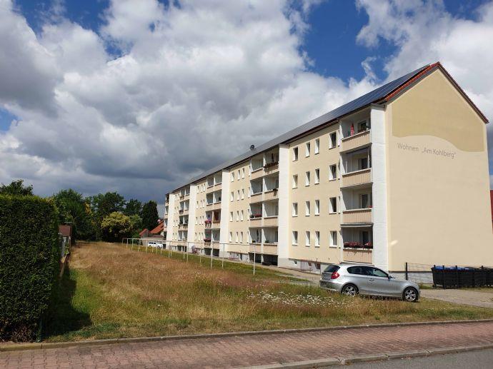 Sonnige 4,5-Raum-Wohnung im 1.Stock in Lohmen bei Pirna mit Südbalkon