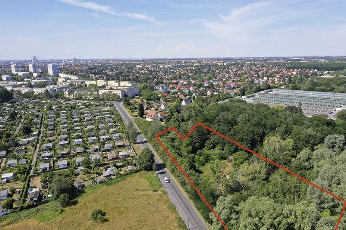 Wald- und Gartengrundstück in Leipzig-Mockau