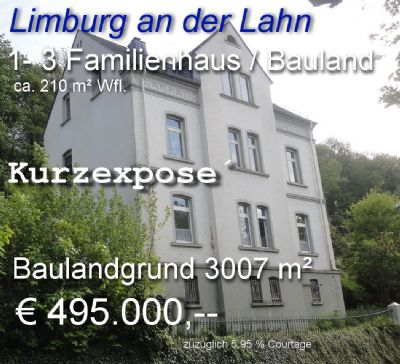 Limburg Grundstücke, Limburg Grundstück kaufen