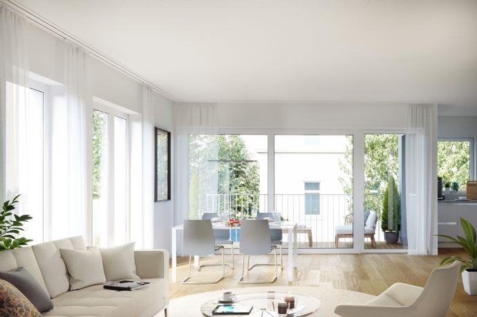 KAUFEN ist sicherer als Mieten, geräumige 3-Raum Wohnung mit Balkon im zu errichtenden Neubau