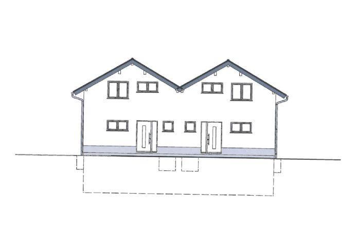 (2 von 2 DHH frei) Nie wieder Miete zahlen in Ihrer eigenen Neubau-DHH mit 135m² Wohnfläche