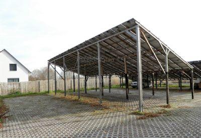 überdachte Stellpätze (Solaranlage)