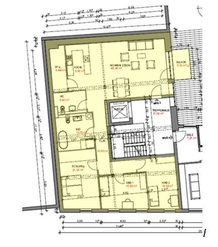 Attraktive 4 Zimmer-Wohnung (Kernsaniert und Erstbezug), WG geeignet, in ruhiger und sonniger Lage in der Kaiserstuhlgemeinde Ihringen