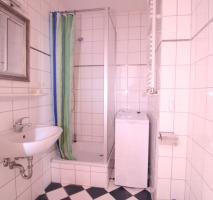 Blick in das Duschbad