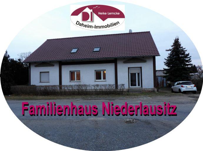 Familienfreundliches Wohnhaus NIEDERLAUSITZ sucht nette Familie: