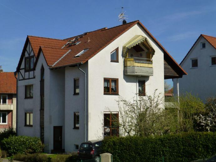 3-Zimmer-Wohnung in KS-Harleshausen, 92 qm, EBK, Loggia mit Herkulesblick, Garage