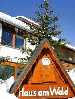 Ferienwohnungen im Haus am Wald in Schönwald