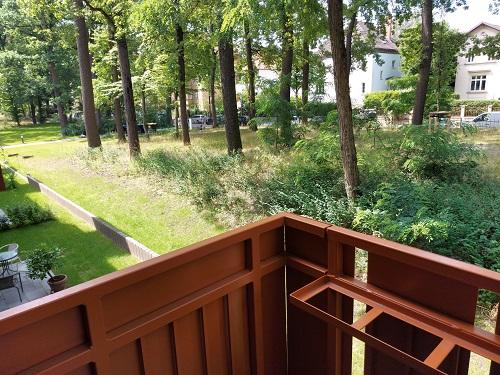 2-Zi.-Wohnung am Schweizerhofpark in Zehlendorf für SENIOREN 55plus