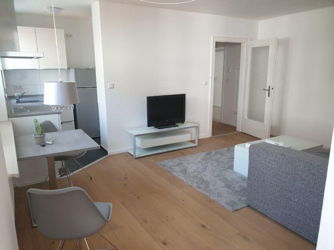 Möblierte 2-Zimmer-Wohnung mit EBK fußläufig zur Innenstadt zu vermieten