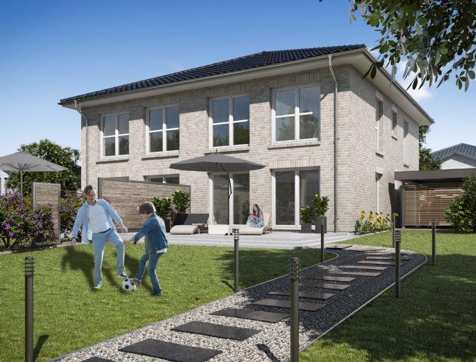 Neubau - Stadtvilla-Doppelhaus noch 1 von