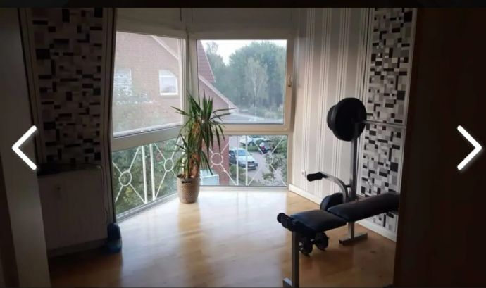 Zentrale 3 Zimmerwohnung in Fredenbeck