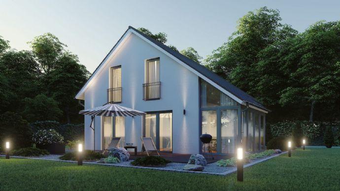 KFW 55 Haus mit Wintergarten .....