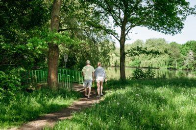 Spazieren, spielen oder joggen im Wassermannpark