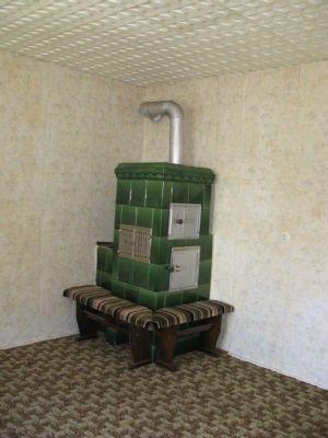 Wohnzimmer EG, mit Traumhaften Kachelofen!