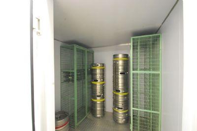 Kühlraum in Küche