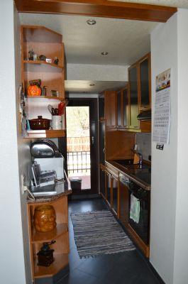 Küche mit separatem Balkon