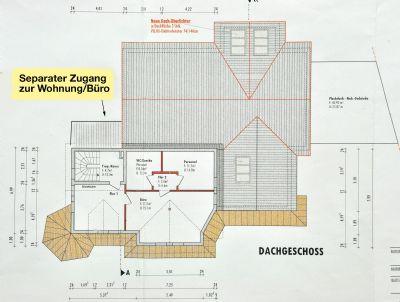 Bauzeichnung-Dachgeschoss