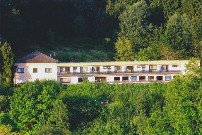 Ehemaliges Seehotel mit traumhaftem Blick auf Stausee in Stadtkyll