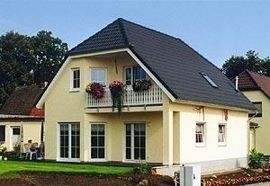 Landhaus mit Loggia