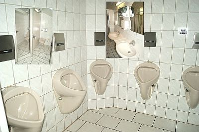WC-Einblicke…