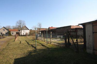 Garten hinter der Scheune