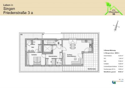 2 zimmer eigentumswohnung whg 4 kfw 55 wohnung singen 2kte74w. Black Bedroom Furniture Sets. Home Design Ideas