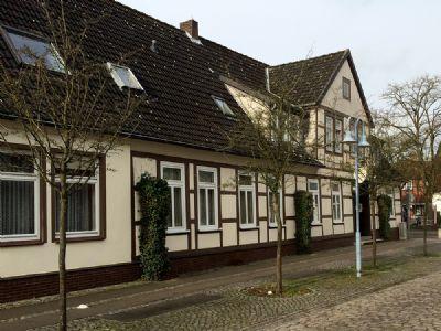 Historische Gaststätte an der Stadtkirche in Rotenburg/Wümme
