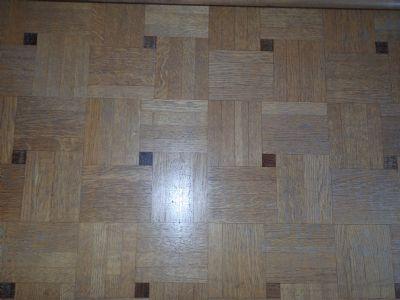 Mosaikparkett Wohnzimmer
