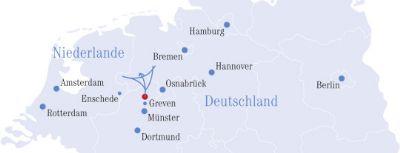 Lage in Deutschland