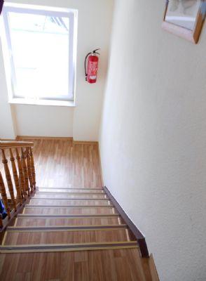 Leicht zu gehendes Treppenhaus!