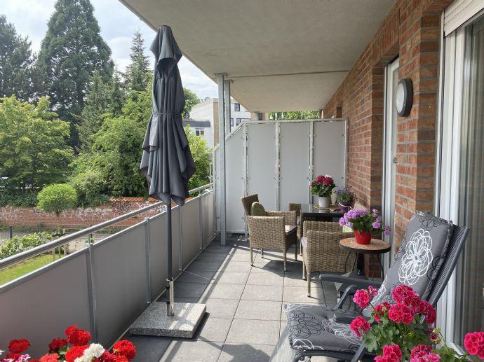 Neubau - 2,5 Zimmer Wohnung mit Balkon in der City von Geesthacht