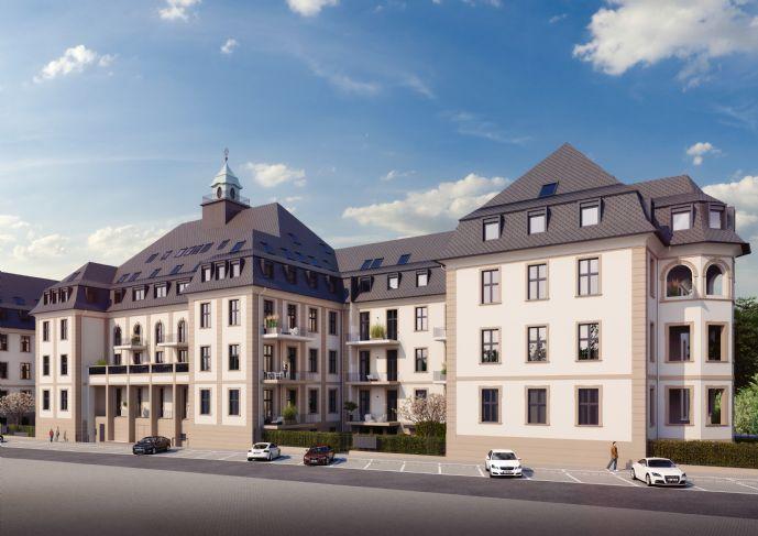 Schöne 4 Zi.-Whg. mit 2 Bädern, 2 Terrassen und geräumigen Wohnzimmer mit 2,80m Deckenhöhe