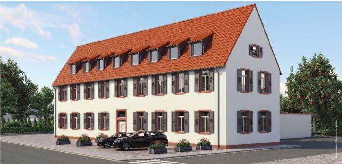 3-Zimmer Wohnung - zentraler Lage in MA-Seckenheim ( Denkmahl geschützt )