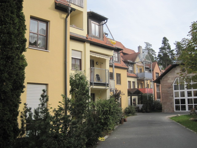 1-Zimmer-Wohnung in Seniorenwohnanlage