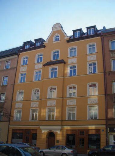 wunderschöne, luxuriös sanierte und möbliert ausgestattete Dachgeschosswohnung in Haidhausen