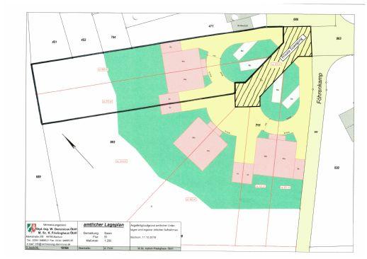 Baugrundstück 1.311 qm und freistehendes Einfamilienhaus, Neubau, ca. 180 m² Wfl, Mülheim-Saarn
