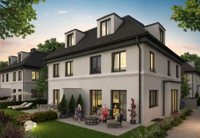 Großzügige DHH mit ca. 218m² Wohn- & nutzb. Fläche, TG, absolut ruhig, beste Südlage v. Bogenhausen
