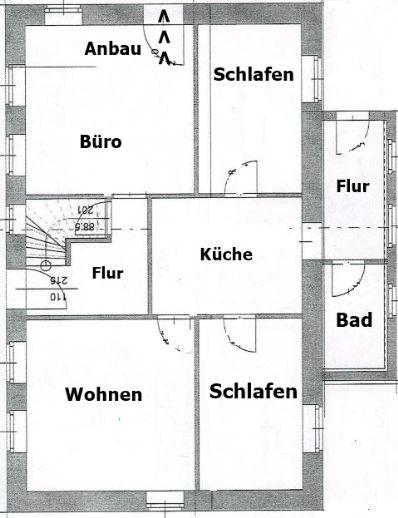 Doppelhaus mit Gewerbeeinheit an einmaliger Stelle