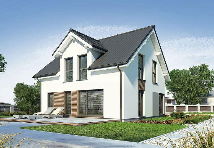 Neubau Einfamilienhaus KfW-Standard