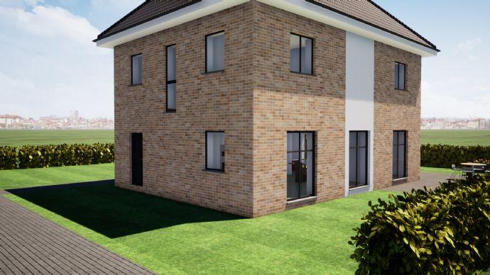 Mitten im Zentrum Grundstück + Haus mit genehmigter Stadthaus-Villa mit Ausbaureserve ***KfW 55 Effizienzhaus***