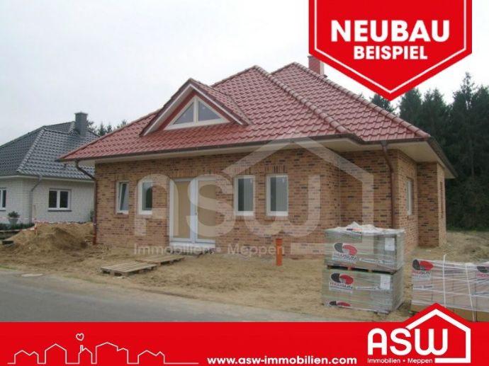 Schlüsselfertiger Neubau - Bungalow mit Garage