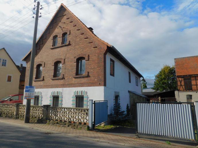 Sie benötigen viel Platz im Nebengebäude(ca. 150 m2) ,Scheune mit teilsaniertem Wohnhaus - lesen Sie weiter!!!