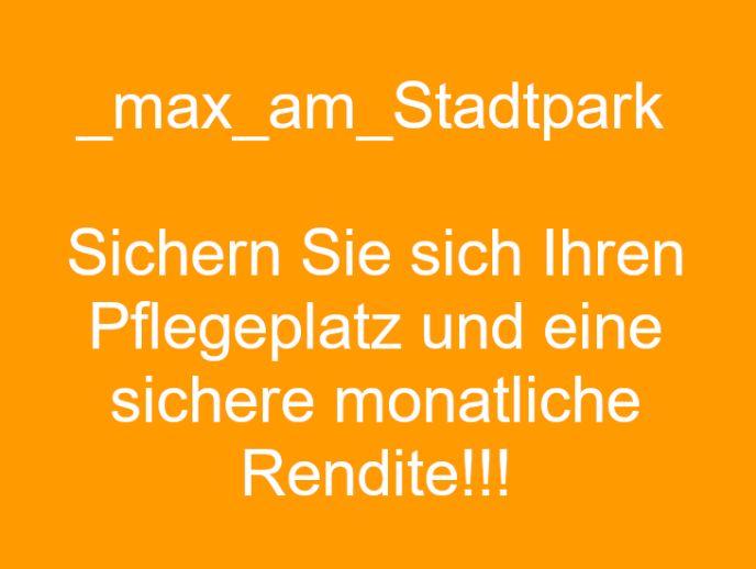 Pflegeplatz sichern! 1/6 Anteil an einem Pflegeappartement am Stadtpark!!!