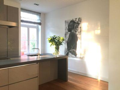 Wunderschöne, sanierte Maisonette-Wohnung mit Ausstattung vom Selbstnutzer im beliebten Quartier 21