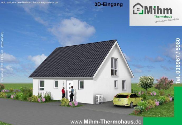 Doppelhaushälfte vorgeplant für Neubaugebiet Honigbach