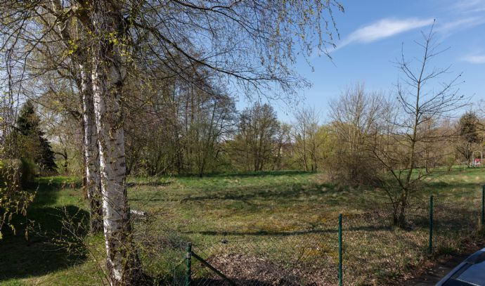 Villengrundstück am Landschaftsschutzgebiet mit unverbaubarer Aussicht